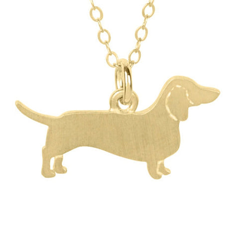 Dachshund Fullbody Necklace Dachshund Charm Women Jewelry dog Necklace Dog Charm Pet Memorial Gift
