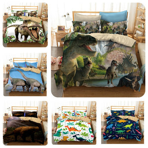 Jurassic Dinosaurs World Bedding Set