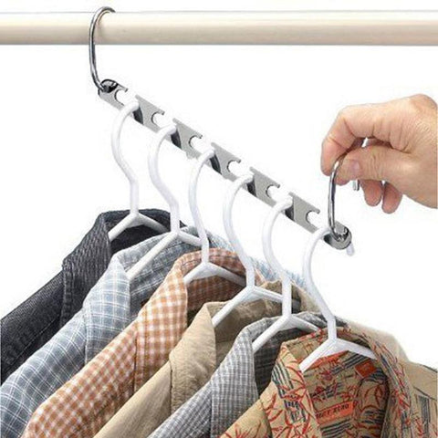 Magic Tidy Hangers Save Space Clothing Organizer
