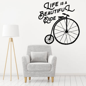 Life Is A Beautiful Ride Mural