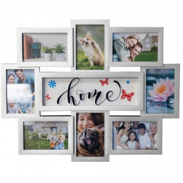 Home 8 Section Collage Photo Frame