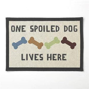 One Spoiled Dog Tapestry Placemat