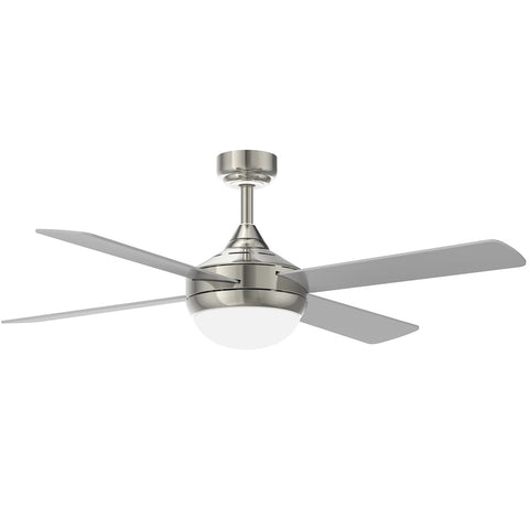 52 Inch 220V Reversible Four-Blade Indoor Ceiling Fan with Remote Control