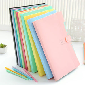 Letter A4 Paper Expanding File Folder Pockets Accordion Document Organizer