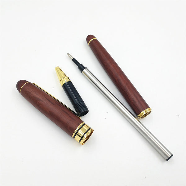 Signing Pen Set Joint Roseood Fountain Pen with Box Office School Stationary Supplies