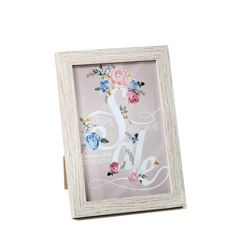 Plastic Photo Frame Table Top Display and Wall Mounting Hanger Photo Frame Picture Frame