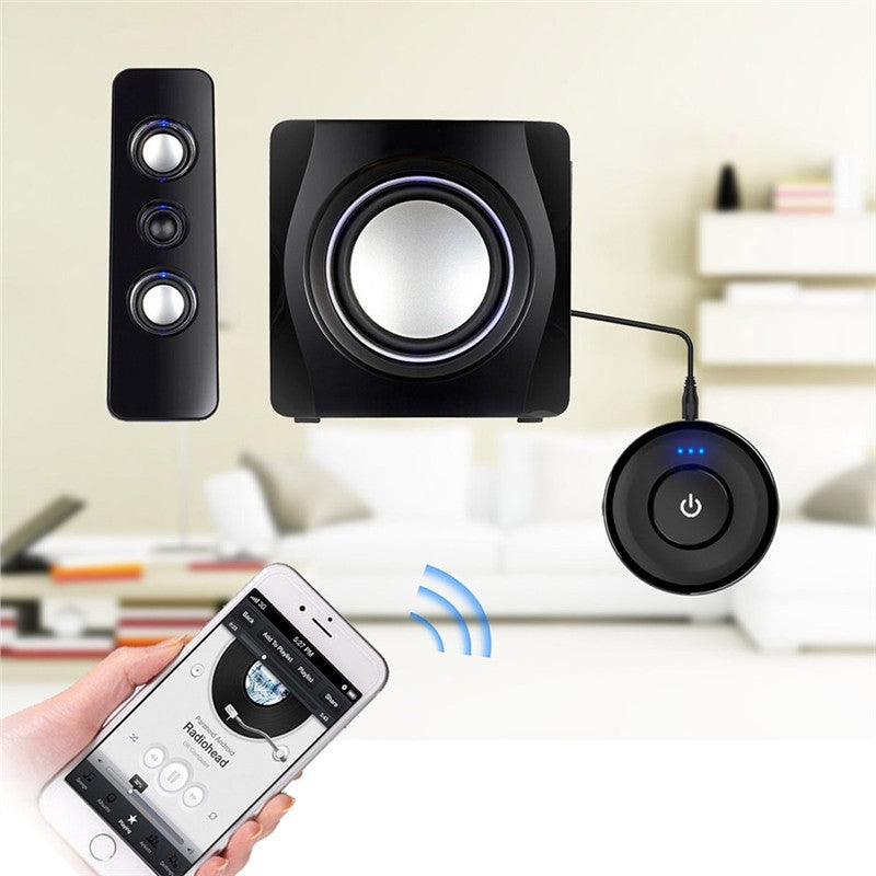 Mini Bluetooth Audio Receiver A2DP Wireless Adapter Home Audio Music Media Sound System Receiver