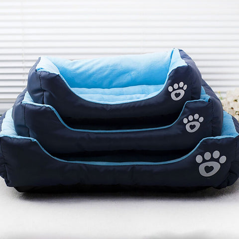 Pet Dog Cat Bed Puppy Cushion House Soft Warm Kennel Dog Mat Blanket