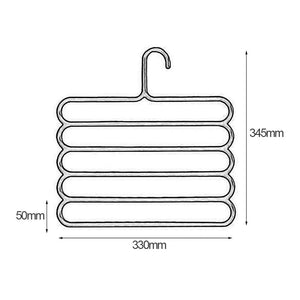 Anti-slip Multiple Layer Pants Hanger
