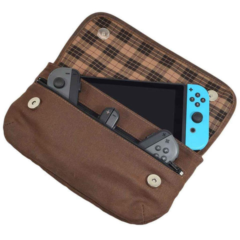 WAXED CANVAS NINTENDO SWITCH COVER