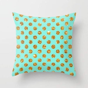 Chic Gold Glitter Polka Dots Pattern - King City Treasures