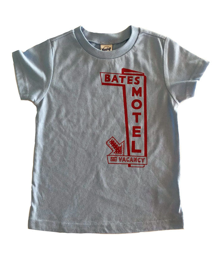 Bates Motel blue t-shirt
