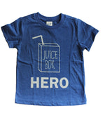 Juice Box Hero tshirt - Little Gypsy Finery