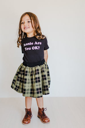 Annie Are You Ok? tshirts - Little Gypsy Finery