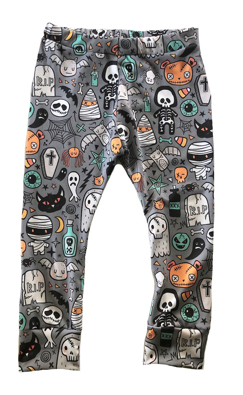 Halloween Monster Mash Leggings (18-24M)