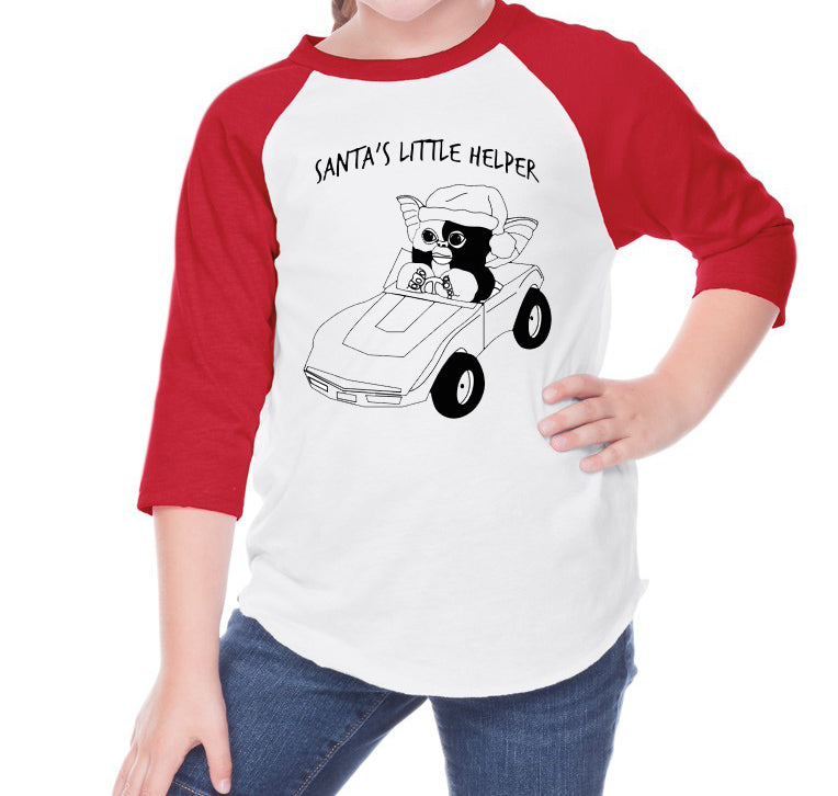 Santa's Little Helper raglans