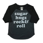 Sugar Hugs Rock & Roll tshirts & raglans - Little Gypsy Finery