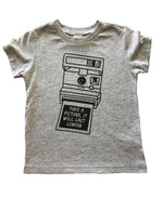 Take A Picture (gray) tshirts - Little Gypsy Finery