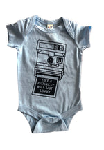 Take a picture bodysuit (size 6m)