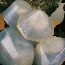 6 Piece Crystal Soap Gem Set