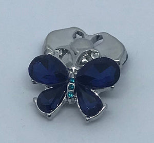 Sapphire Butterfly Snap