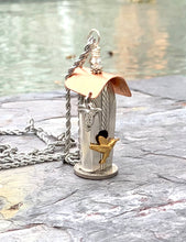 """Allure"" Birdhouse Necklace"