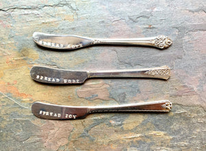 Stamped Vintage Spreaders