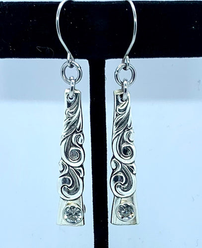 """South Seas"" Vintage Flatware Earrings"