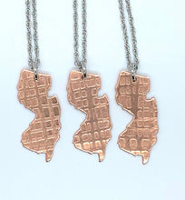 Copper New Jersey Necklaces