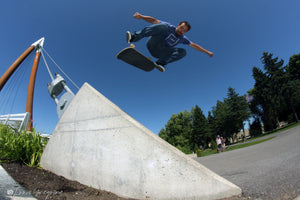 Vincent Tanguay: New member on the Luxey skateboard team