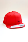 Luxey cap flexfit snapback red