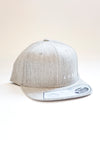 Luxey cap snapback heather grey
