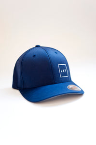 square cap flexfit navy