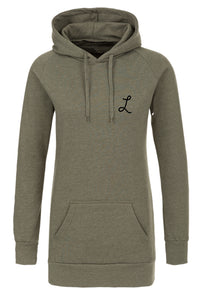 women long Signature  hoodie