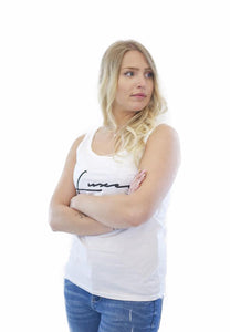 women signature tank white