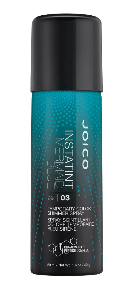 Joico InstaTint Temporary Color Shimmer Spray Mermaid Blue 1.4 oz
