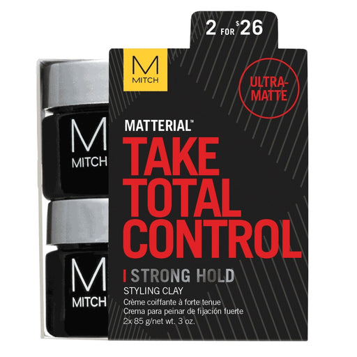 Paul Mitchell Mitch Matterial Strong Hold Styling Clay Duo