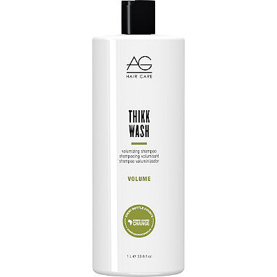 AG Hair Volume Thikk Wash Volumizing Shampoo 33.8 oz