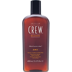 American Crew 3-in-1 Shampoo, Conditioner and Body Wash - 15.2 oz