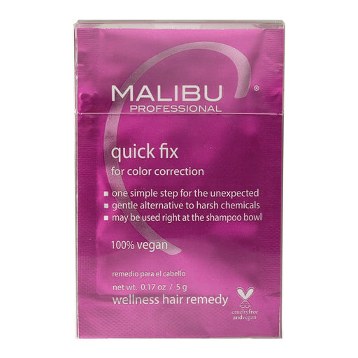 Malibu C Quick Fix Color Correction Treatments Box - 12 Count