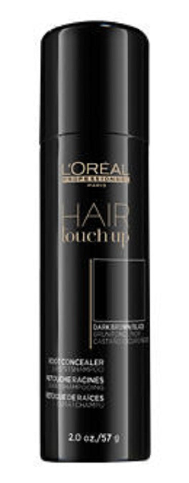 L'Oreal Professionnel Hair Touch Up Root Concealer Dark Brown / Black 2 oz
