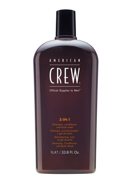 American Crew 3-in-1 Shampoo, Conditioner and Body Wash 33.8 oz