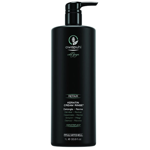 Paul Mitchell Awapuhi Wild Ginger Keratin Cream Rinse - 33.8 fl. oz.