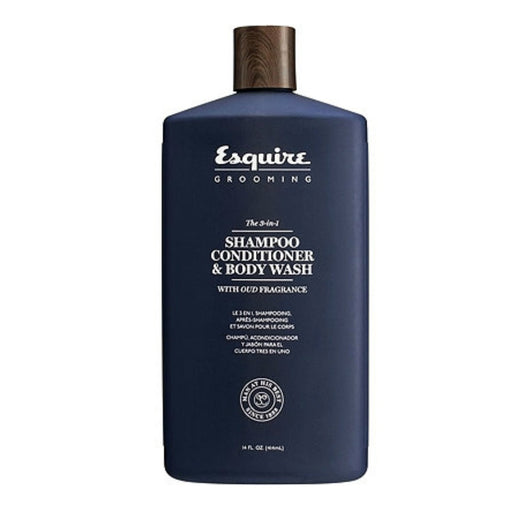 Esquire Grooming The 3-in-1 Shampoo Conditioner & Body Wash - 14 oz