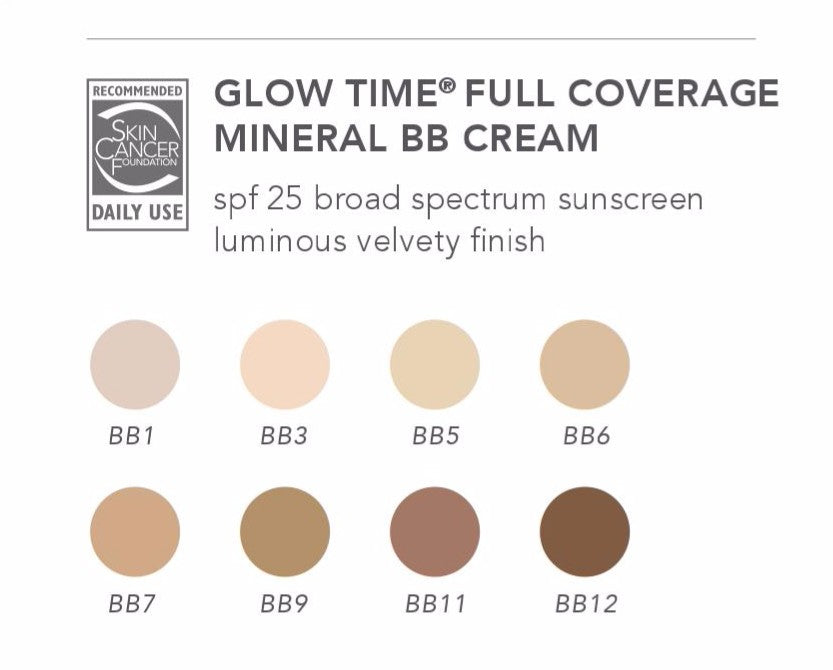 jane iredale Glow Time Full Coverage Mineral BB Cream SPF 25 - 1.7 oz