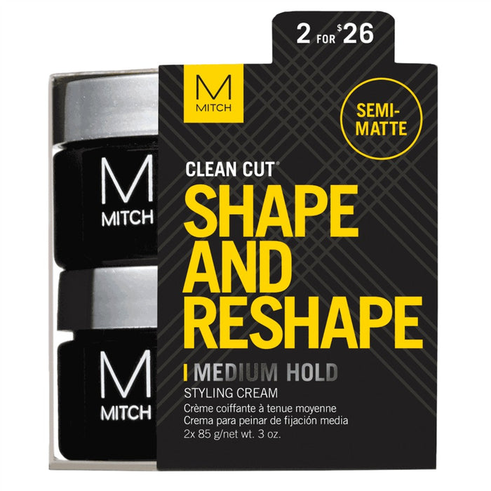 Paul Mitchell Mitch Clean Cut Styling Cream Duo