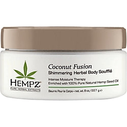 Hempz Coconut Fusion Shimmering Herbal Body Souffle - 8 oz