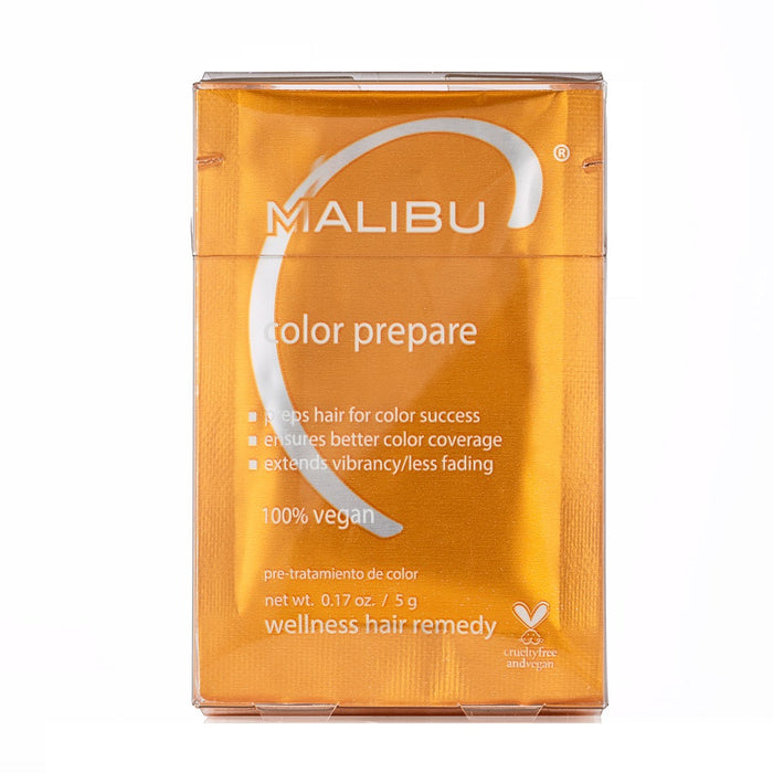 Malibu C Color Prepare Treatments Box - 12 Count