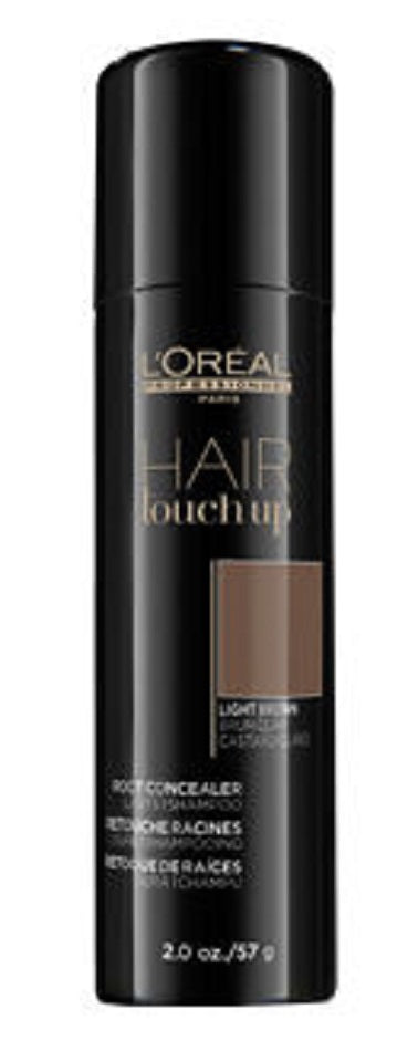 L'Oreal Hair Touch Up Root Concealer Light Brown 2 oz