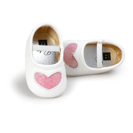 2017 Autumn Spring Fashion Shoes New Lovely PU Soft Bottom Baby Girl Princess Shoes 0-18M
